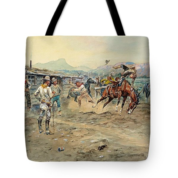 The Tenderfoot Tote Bag by Roberto Prusso