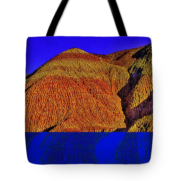 The Tepees Up Close Tote Bag