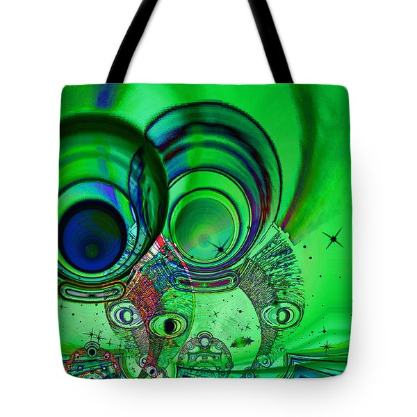 The Terrible Twos Tote Bag by Wendy J St Christopher