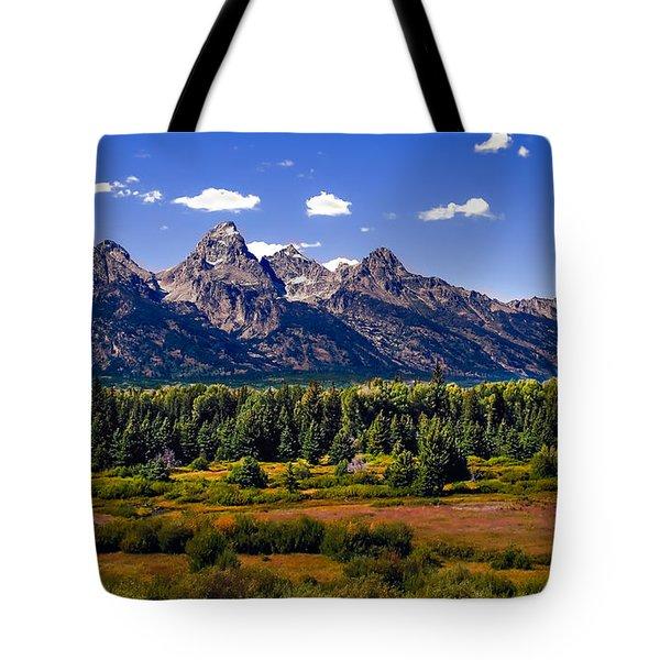 The Tetons II Tote Bag by Robert Bales