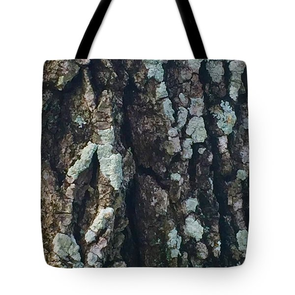 The Texture Is In The Trees1 Tote Bag