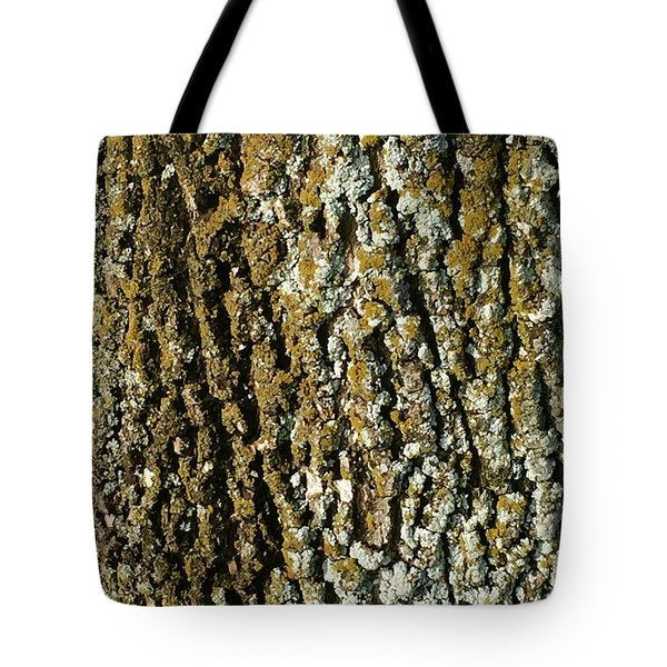 The Texture Is In The Trees2 Tote Bag