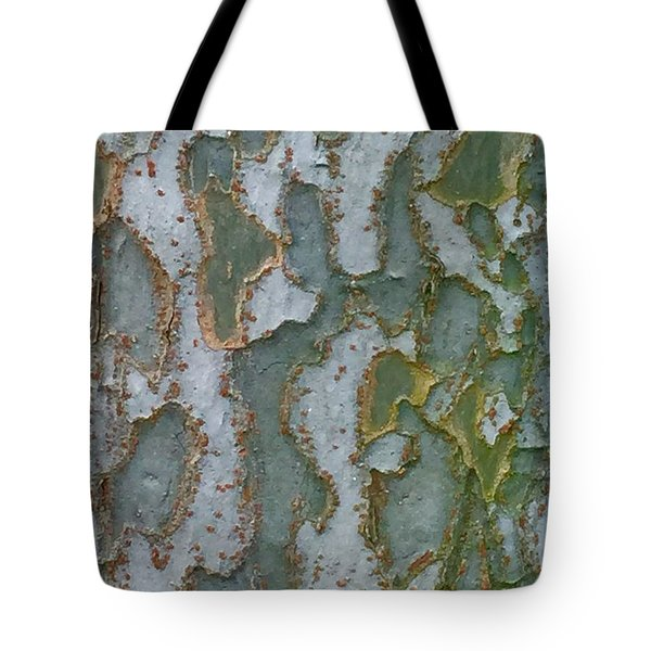 The Texture Is In The Trees3 Tote Bag