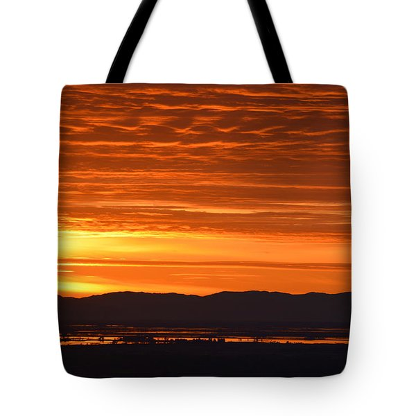 The Textured Sky Tote Bag