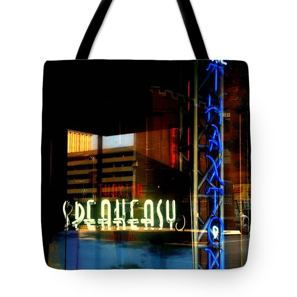 The Thaxton Speakeasy Tote Bag by Kelly Awad