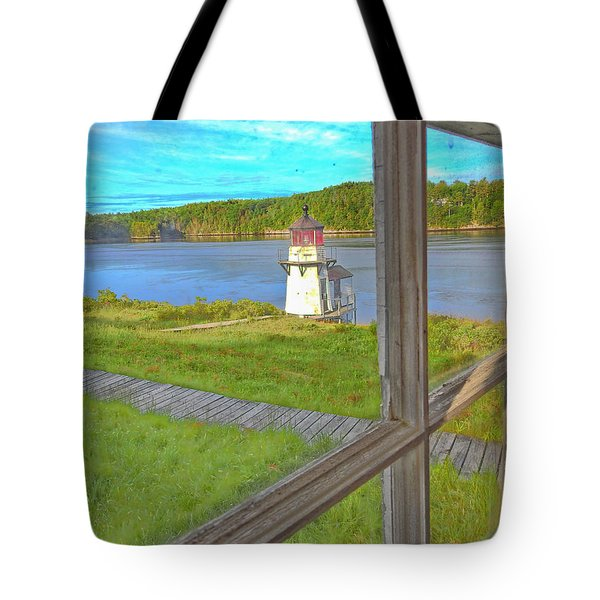 The Thin Line Between Real And Imagined Tote Bag