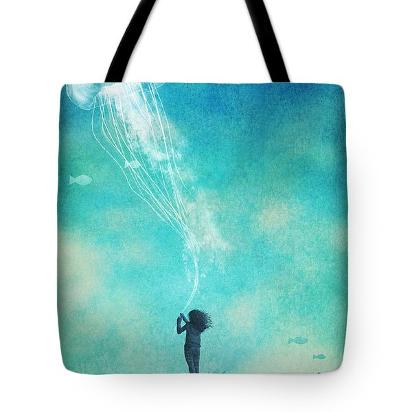 The Thing About Jellyfish Tote Bag