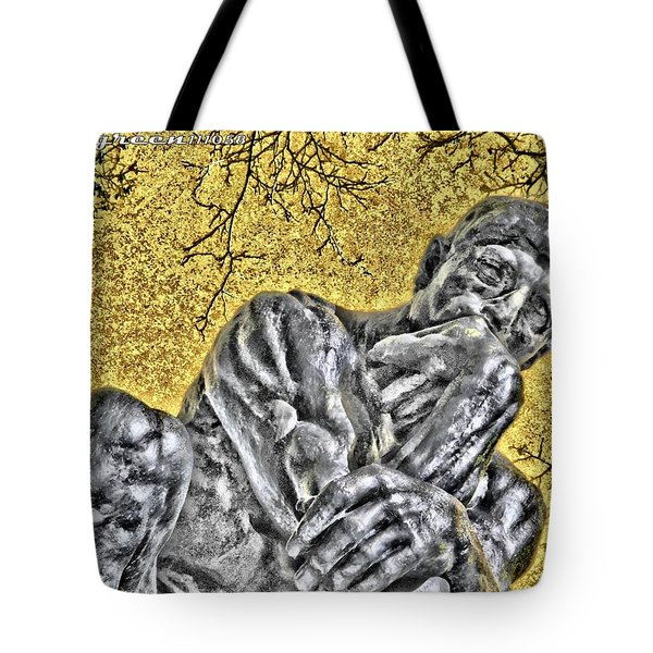The Thinker - Study #1 Tote Bag