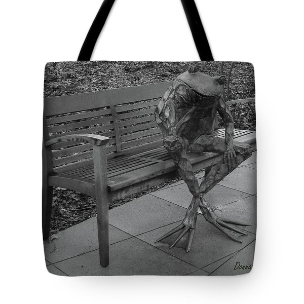 The Thinking Frog Tote Bag