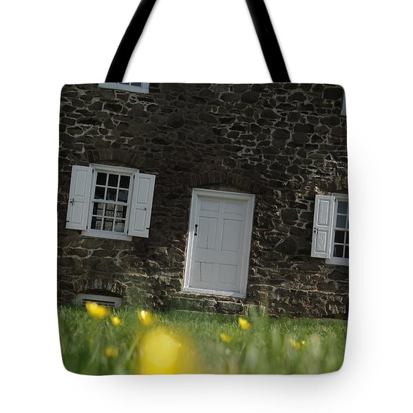 The Thompson-neely House In Washington Crossing State Park Tote Bag by Emanuel Tanjala