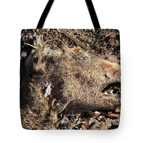 Tote Bag featuring the photograph The Thought Has Left Me by Jez C Self
