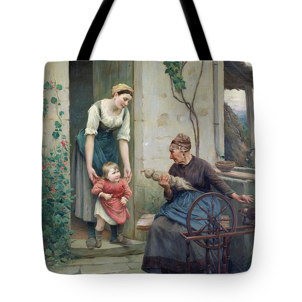The Three Ages Tote Bag by Jules Scalbert