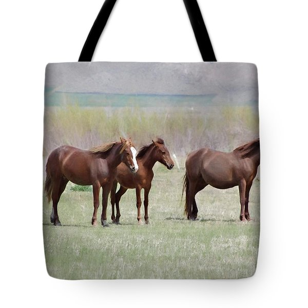 Tote Bag featuring the photograph The Three Amigos by Benanne Stiens