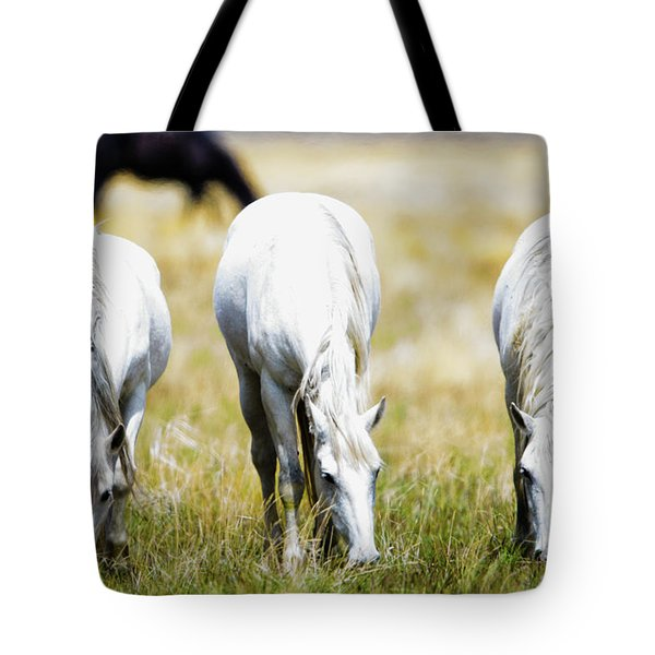 The Three Amigos Grazing Tote Bag