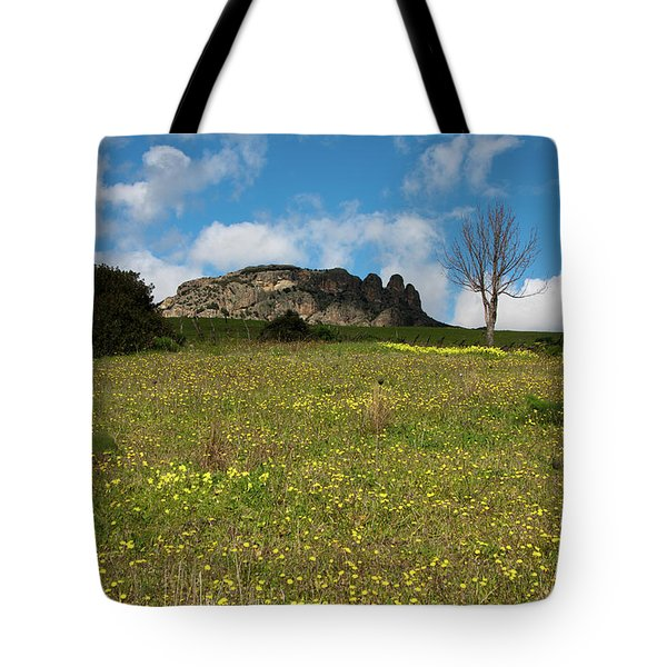 The Three Finger Mountain Tote Bag