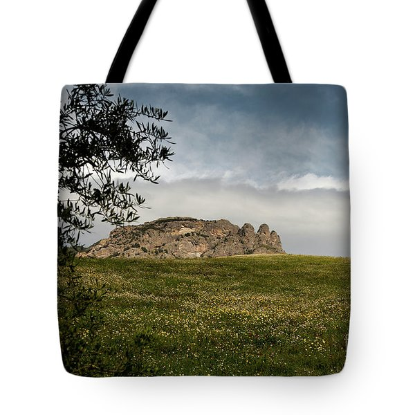 Italy, Calabria, Cimina,the Three Fingers Tote Bag