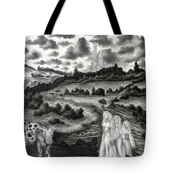 The Three Ladies  Tote Bag