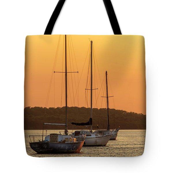 The Three Mast Tote Bag
