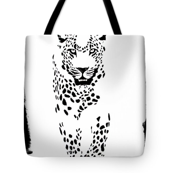 The Three Musketeers - Leopard Tote Bag