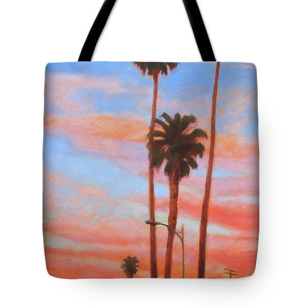 The Three Palms Tote Bag by Andrew Danielsen