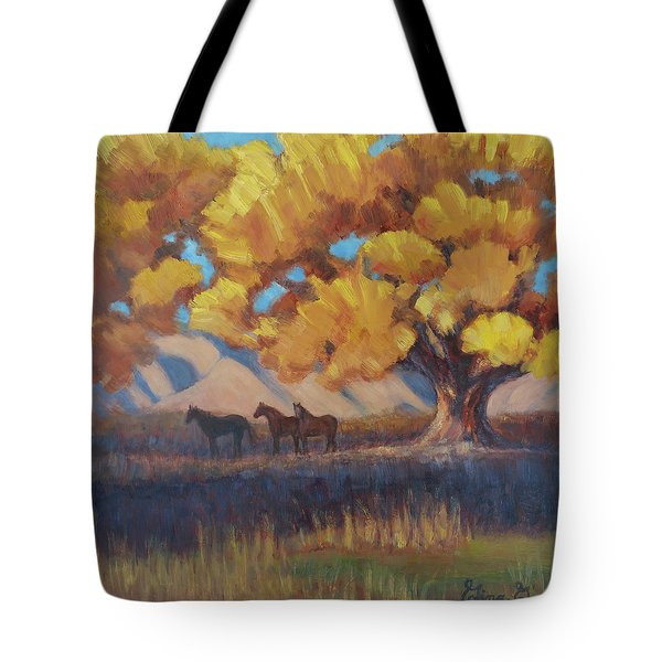 The Three Quarters Tote Bag