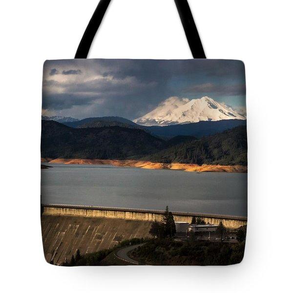 The Three Shasta's Tote Bag