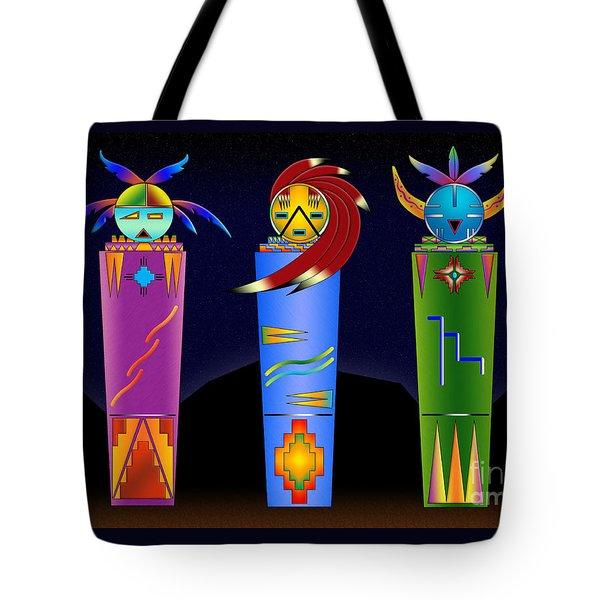 The Three Spirits Tote Bag