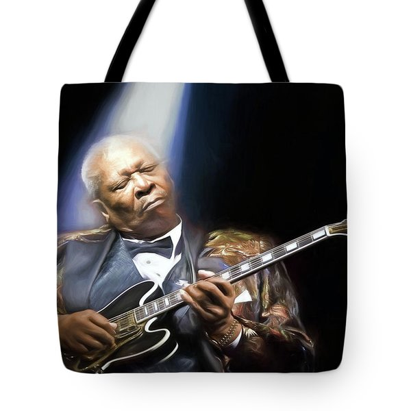 The Thrill Is Gone Tote Bag by Peter Chilelli