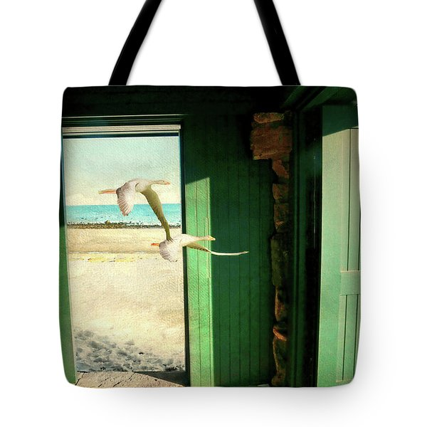 Tote Bag featuring the photograph The Thruway by Diana Angstadt