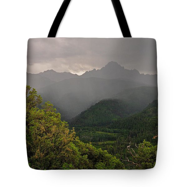 The Thunder Rolls Tote Bag