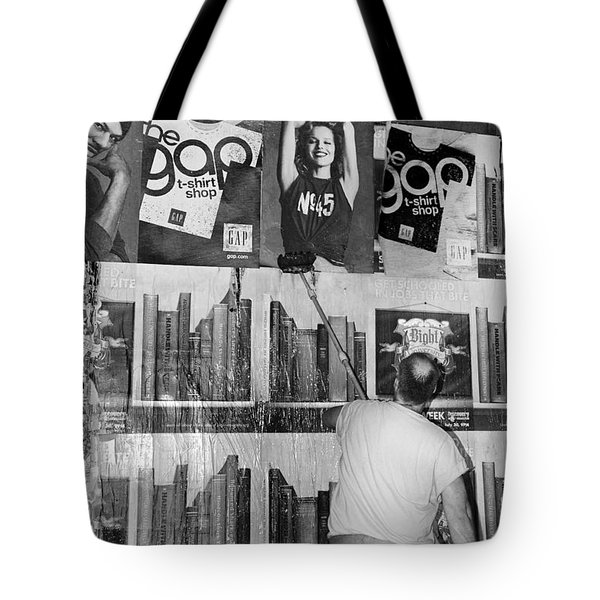 The Tickle Tote Bag by Robert Lacy