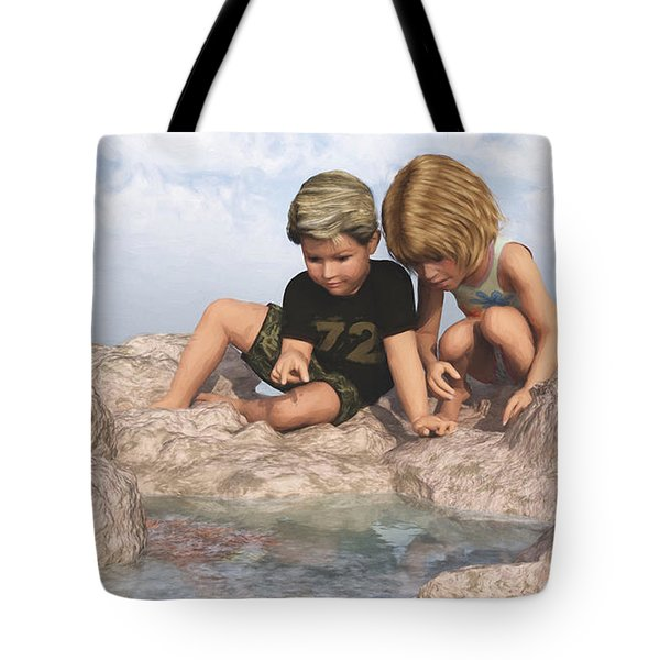 The Tide Pool Tote Bag