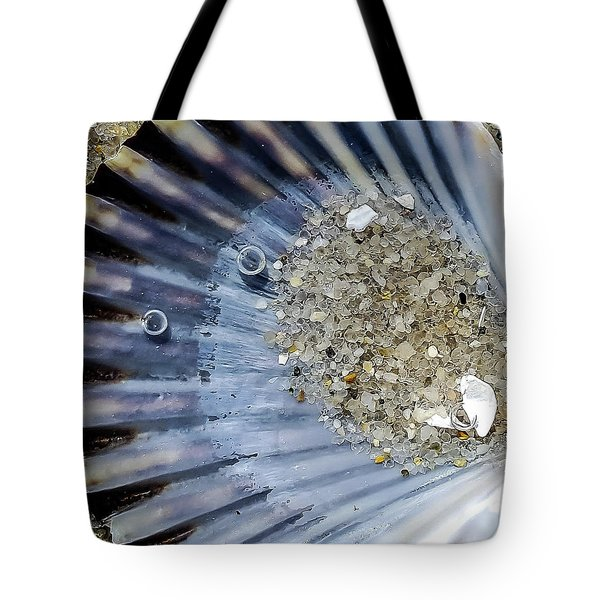The Tides Edge Tote Bag by Bruce Carpenter