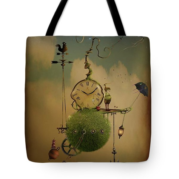 The Time Chasers Tote Bag