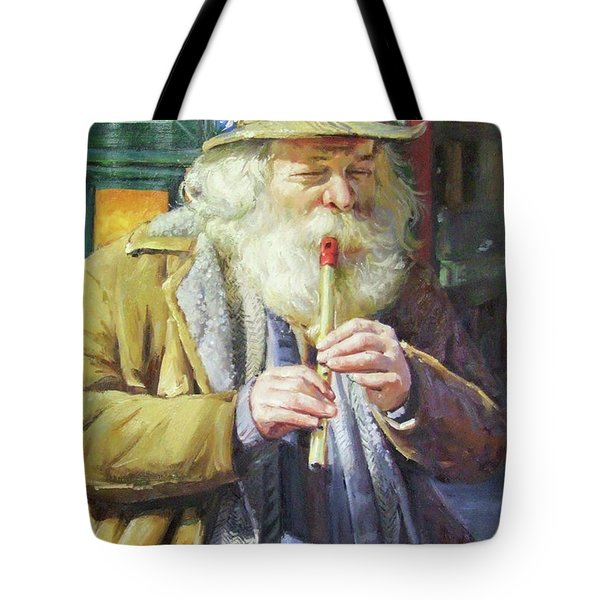 The Tin Whistle Tote Bag by Conor McGuire