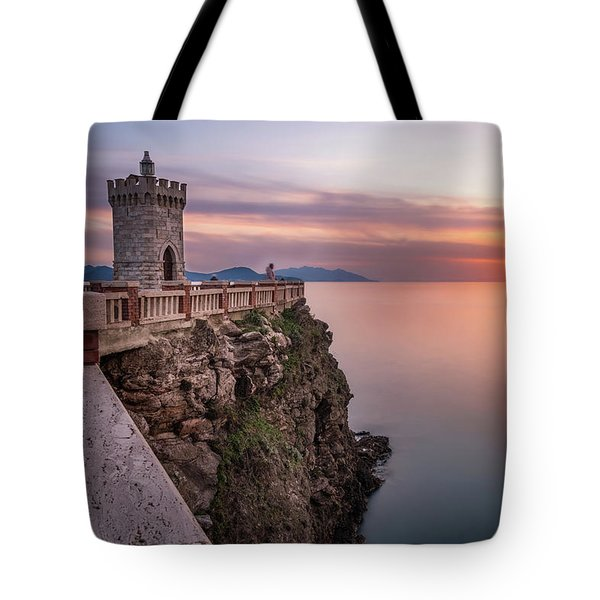 The Tiny Lighthouse Tote Bag