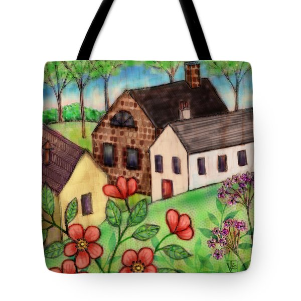 The Tiny Villiage Tote Bag