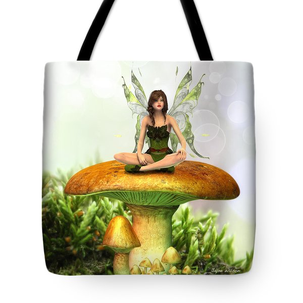 The Toadstool Fairy Tote Bag