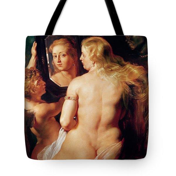 The Toilet Of Venus Tote Bag by Peter Paul Rubens
