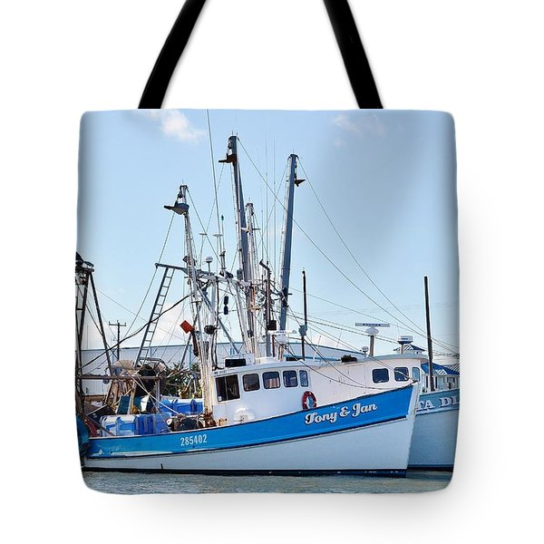 The Tony And Jan - West Ocean City Harbor Tote Bag
