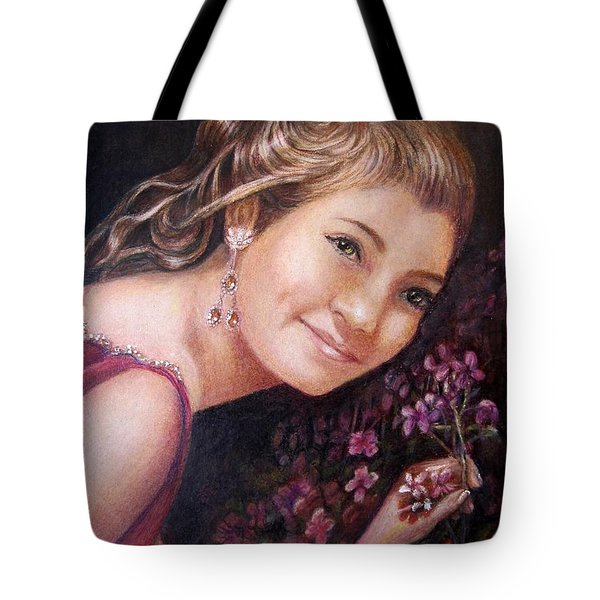 The Topaz Earring Tote Bag