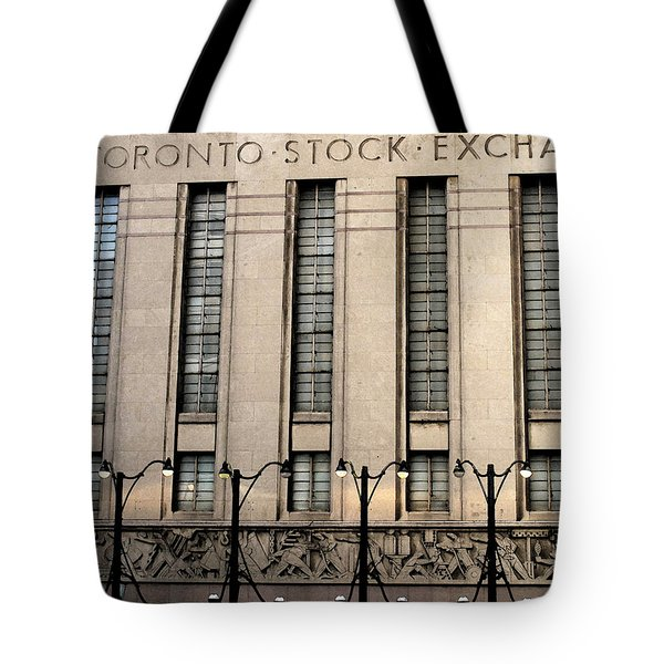 The Toronto Stock Exchange Tote Bag