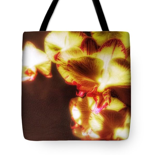Tote Bag featuring the photograph The Touch by Isabella F Abbie Shores FRSA