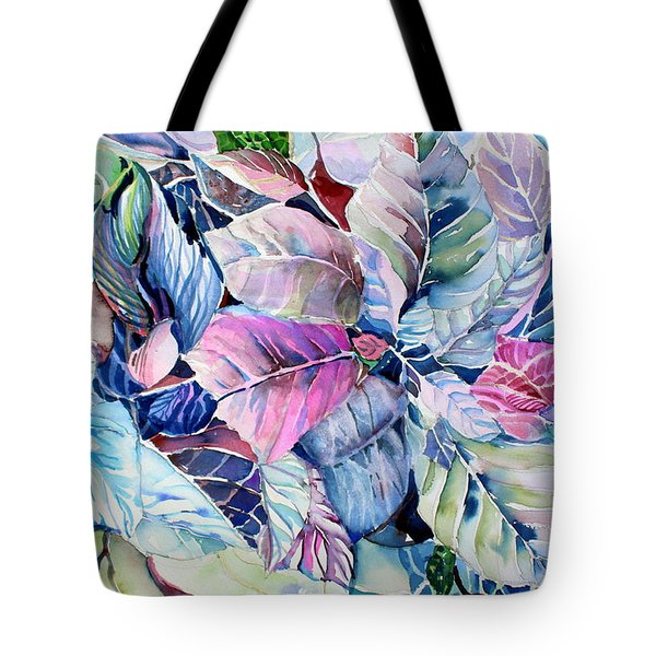 The Touch Of Silence Tote Bag