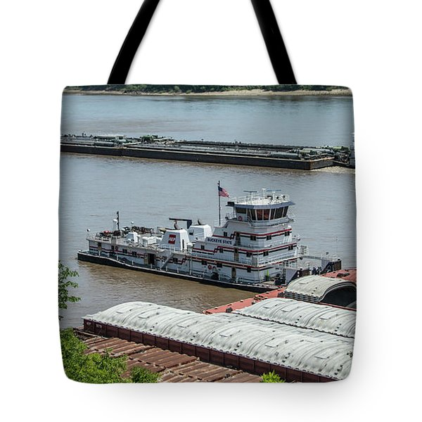 The Towboat Buckeye State Tote Bag by Garry McMichael
