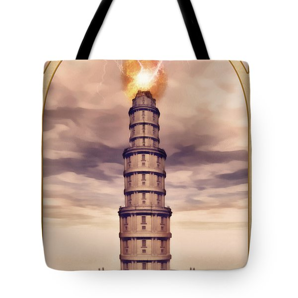 The Tower Tote Bag by John Edwards