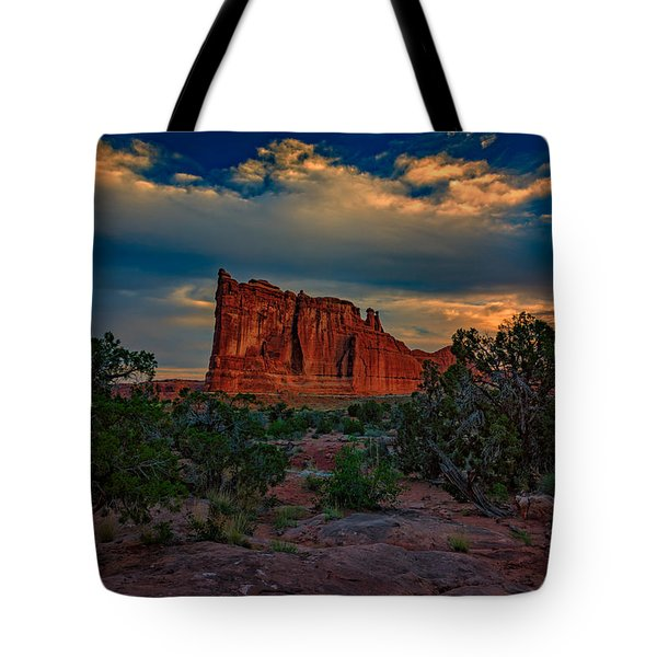 The Tower Of Babel From Park Avenue Tote Bag