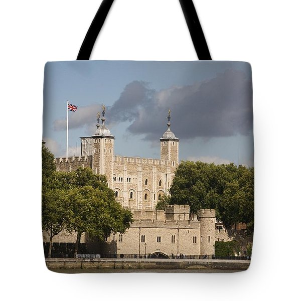 Tote Bag featuring the photograph The Tower Of London. by Christopher Rowlands