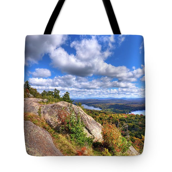 The Tower On Bald Mountain Tote Bag