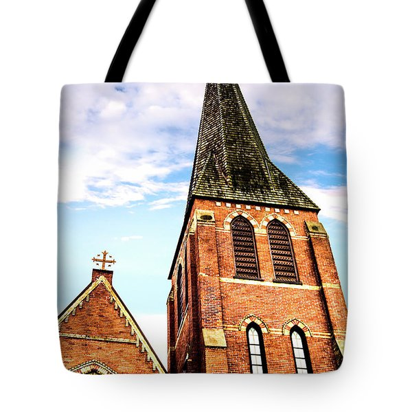 Tote Bag featuring the photograph The Tower by Onyonet  Photo Studios